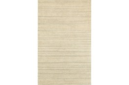96X120 Run-Karina Natural Wool Stripe