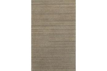 60X96-Karina Mocha Wool Stripe
