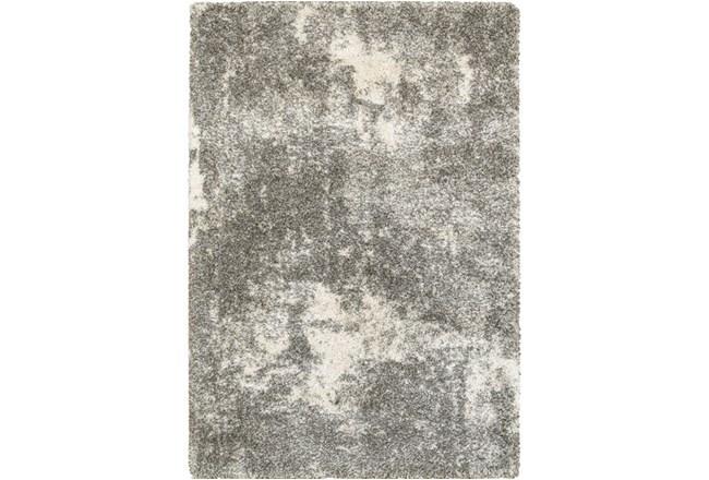 46X65 Rug-Beverly Shag Lt Grey Faded - 360