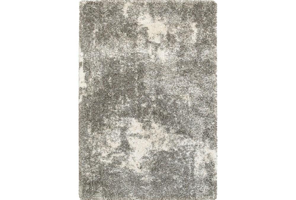 118X154 Rug-Beverly Shag Lt Grey Faded