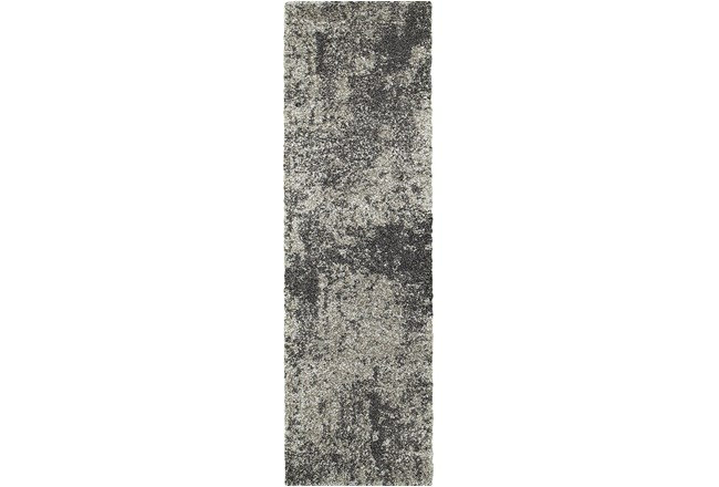 27X90 Rug-Beverly Shag Graphite Faded - 360