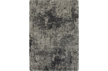 94X130 Rug-Beverly Shag Graphite Faded