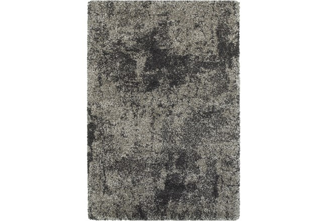 94X130 Rug-Beverly Shag Graphite Faded - 360