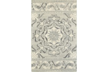 120X156 Rug-Tinley Grey Bands