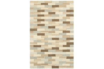 120X156 Rug-Weston Brick Pattern
