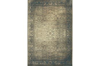 79X114 Rug-Bastile Faded Grey