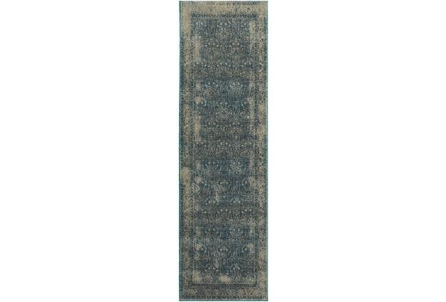 27X90 Rug-Cashel Dark Blue - 360