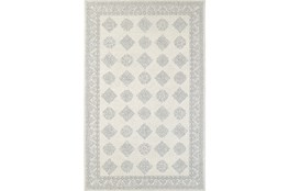 96X120 Rug-Agatha Diamonds Grey