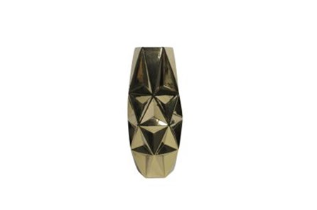 20 Inch Porcelain Gold Vase