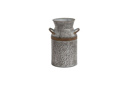 14 Inch Metal Galvanized Can
