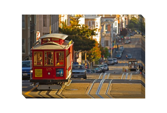Picture-36X24 Cable Car - 360