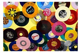 Picture-36X24 Colorful Records