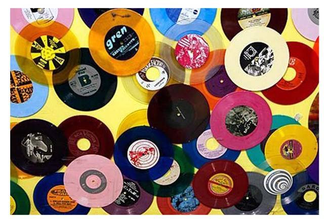 Picture-36X24 Colorful Records - 360