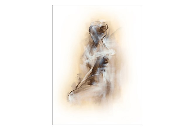 Picture-Sitting Woman 30X40 - 360