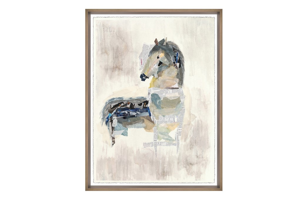 Picture-Abstract Horse I 24X32