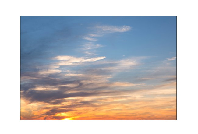 Picture-Autumn Sky 36X24 - 360