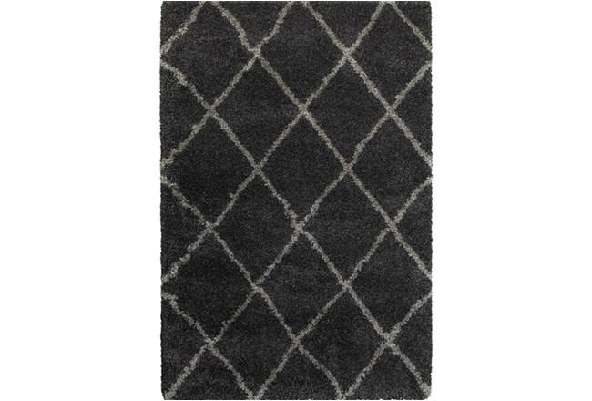 63X90 Rug-Beverly Shag Diamond Graphite - 360