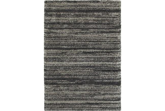 94X130 Rug-Beverly Shag Stripe Grey - 360