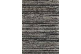 118X154 Rug-Beverly Shag Stripe Grey