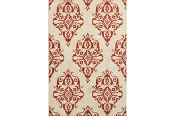 46X65 Rug-Cyra Medallion Rust