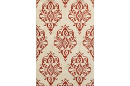 94X130 Rug-Cyra Medallion Rust