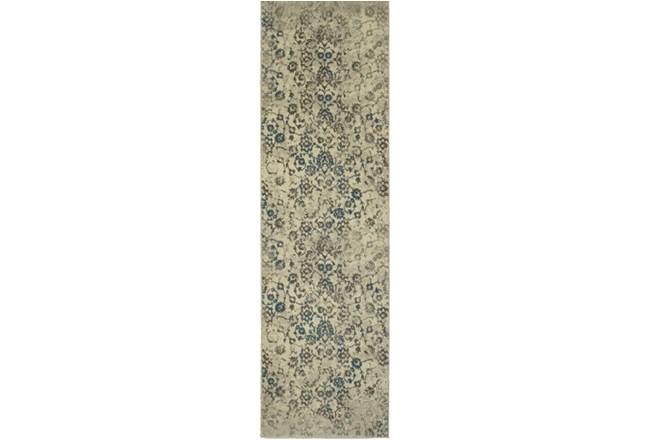 27X90 Rug-Fergus Tapestry Grey - 360