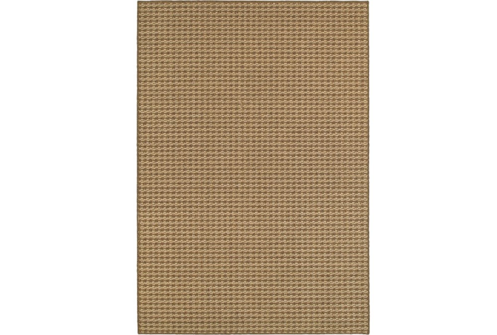 63X90 Outdoor Rug-Gemma Check Brown