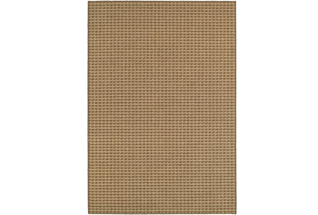 63X90 Outdoor Rug-Gemma Check Brown - 360