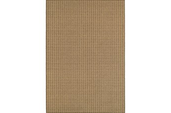 94X130 Outdoor Rug-Gemma Check Brown