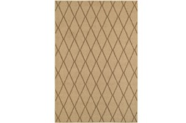 118X154 Outdoor Rug-Gemma Diamond Beige