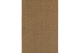 63X90 Outdoor Rug-Gemma Solid Brown