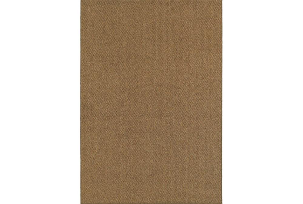 118X154 Outdoor Rug-Gemma Solid Brown
