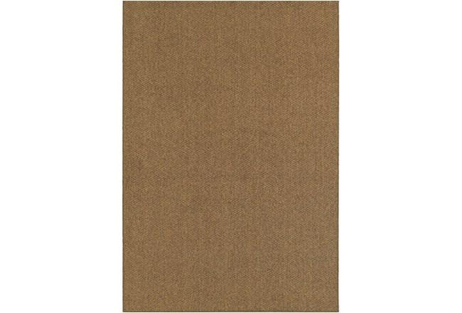 118X154 Outdoor Rug-Gemma Solid Brown - 360