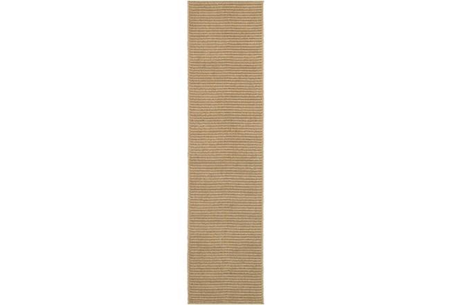 22X90 Outdoor Rug-Gemma Lines Beige - 360