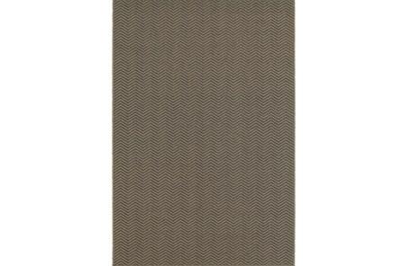 63X90 Outdoor Rug-Gemma Herringbone Grey