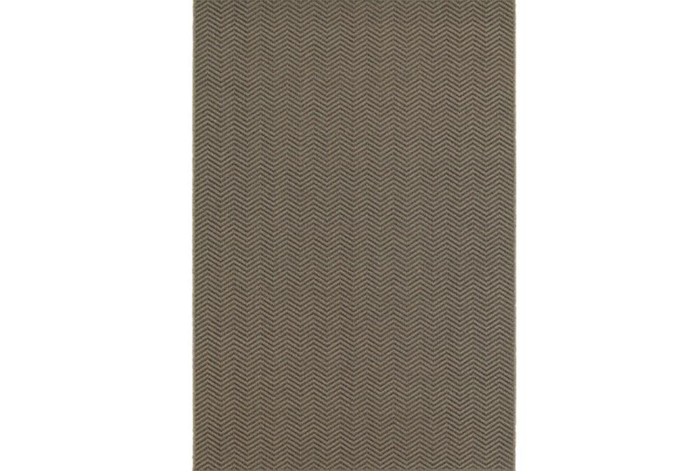 79X114 Outdoor Rug-Gemma Herringbone Grey