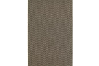 79X114 Outdoor Rug-Gemma Herringbone Grey