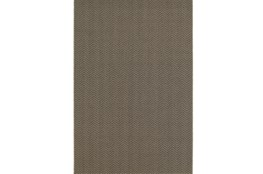 94X130 Outdoor Rug-Gemma Herringbone Grey