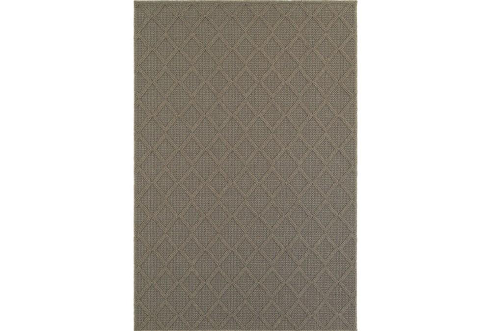 39X60 Outdoor Rug-Gemma Diamond Grey