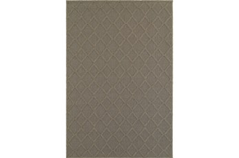 94X130 Outdoor Rug-Gemma Diamond Grey
