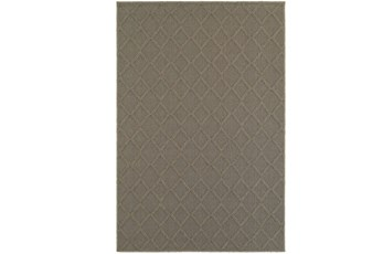 118X154 Outdoor Rug-Gemma Diamond Grey