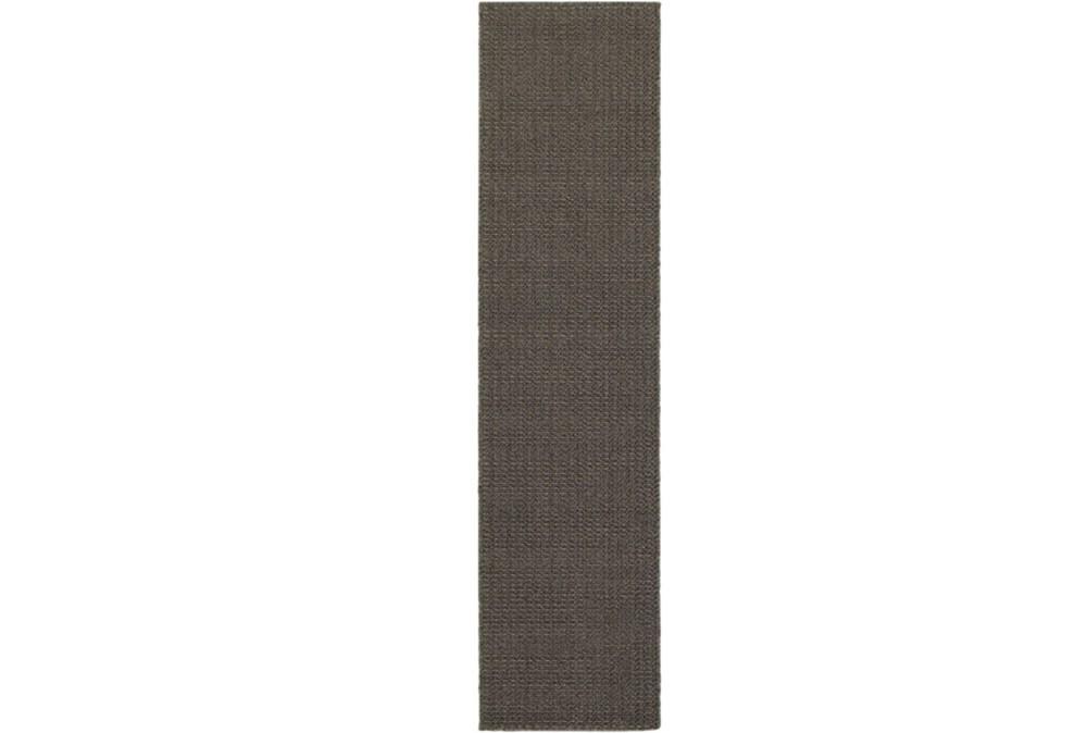 22X90 Outdoor Rug-Gemma Texture Grey