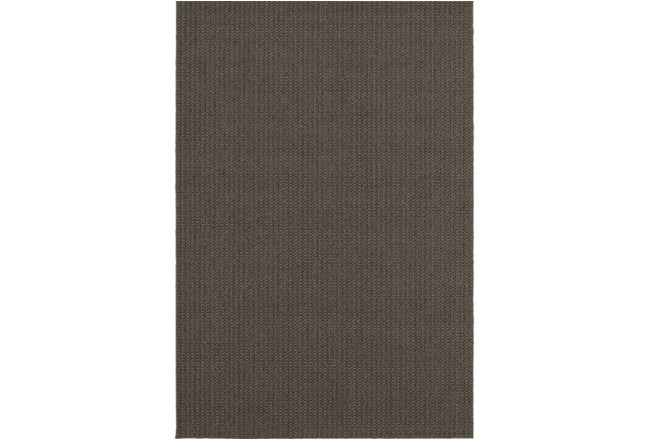94X130 Outdoor Rug-Gemma Texture Grey - 360