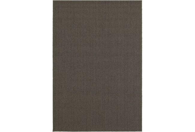 118X154 Outdoor Rug-Gemma Texture Grey - 360