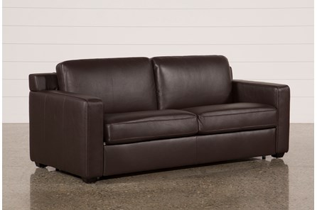 Nolan Leather Brown Sleeper