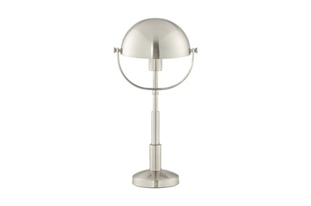 Desk Lamp-Nickel Dome