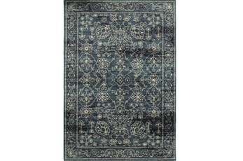 63X90 Rug-Acanthus Traditional Navy