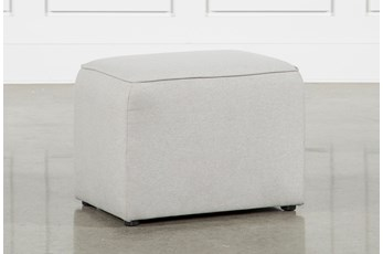 Maggie Light Grey Arm Stool