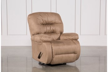 Decker II Fabric Swivel Rocker Recliner