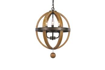 Pendant-Vineyard 3-Light Globe
